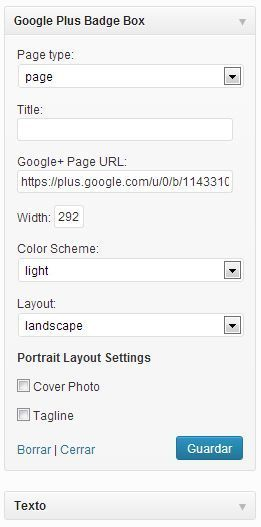 Google plus plugin wordpress