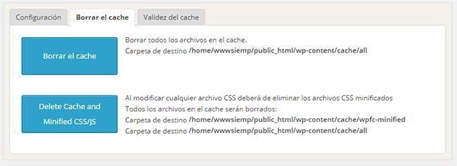velocidad en tu blog plugin cache2