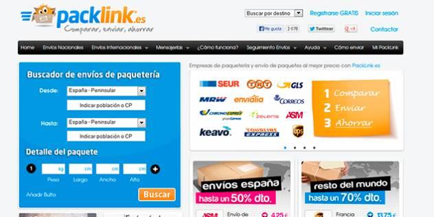 Review sobre Packlink – Usabilidad y diseño