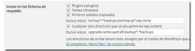 updraftplus Backup Panel2