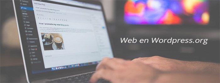 Tercera Forma - Crear web en wordpress