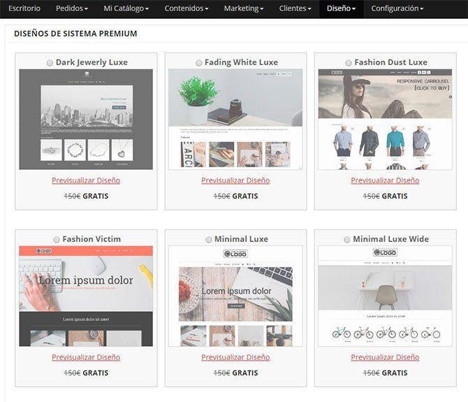 Elegir un diseño y estética adecuado