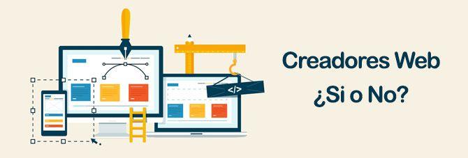 Creadores de Páginas Web Gratis – Utilizar ¿SI o NO?