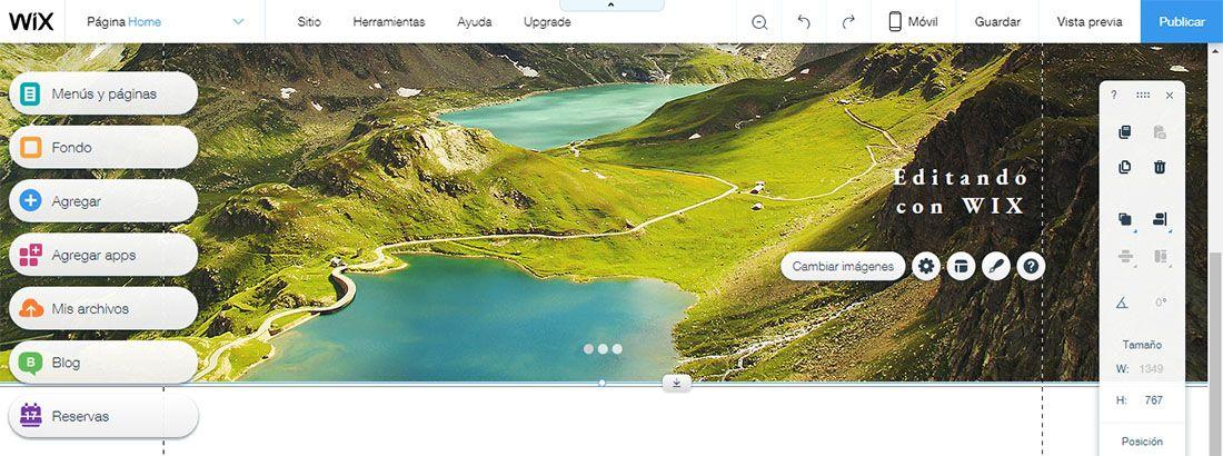 Crear una Página con el Editor Wix – Guía Tutorial para Principiantes