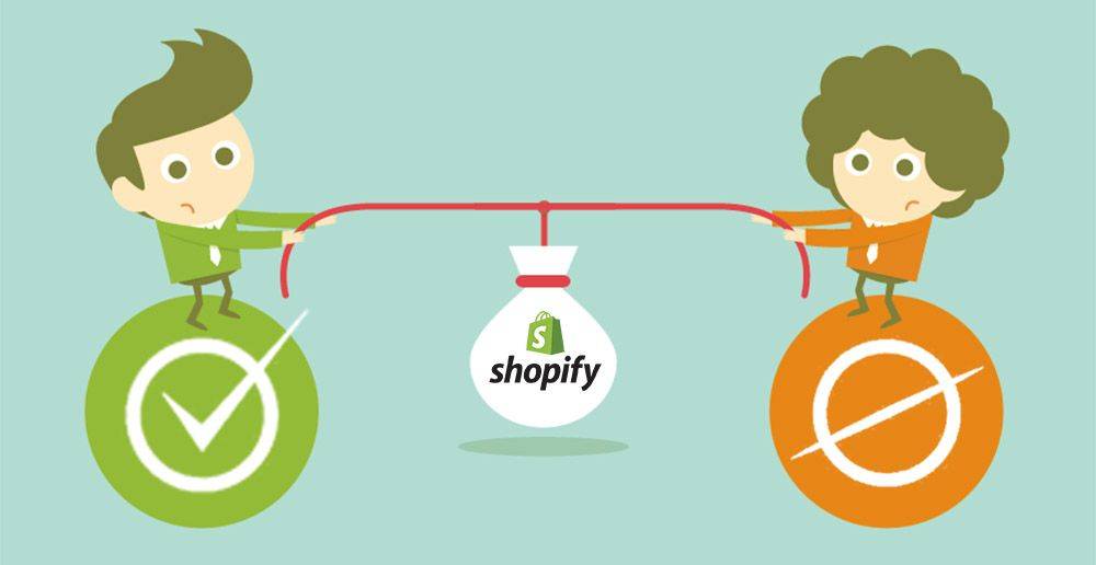 Las Ventajas y Desventajas de utilizar Shopify