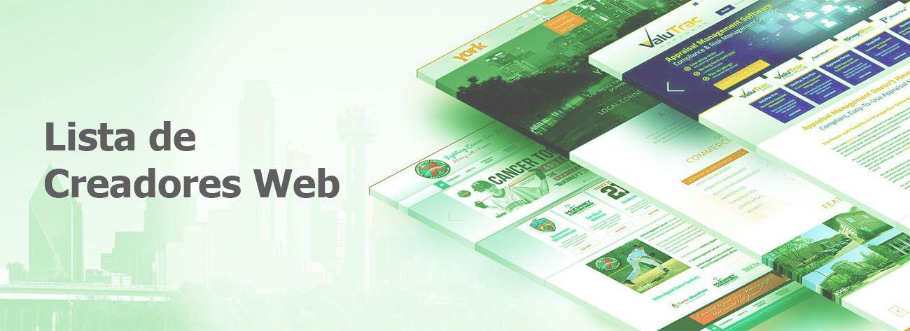 Paginas para Crear un Pagina Web