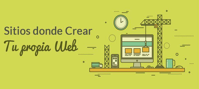 listado de programas para crear una pagina web