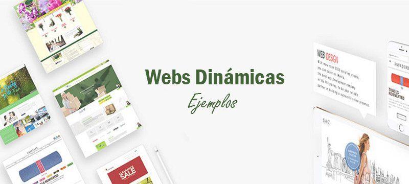 ejemplo de webs dinamicas