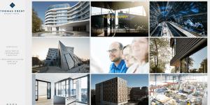 ejemplo de portfolio web arquitectos