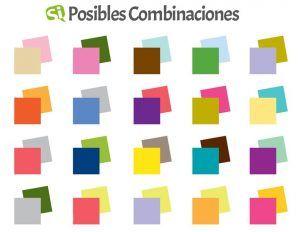Tabla Combinación de Colores web