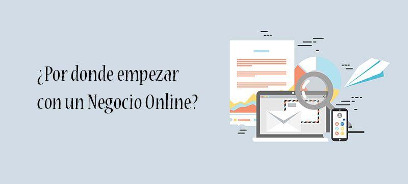 Empezar en un negocio online