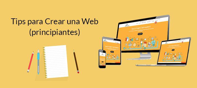 Tips Creacion Web principiantes